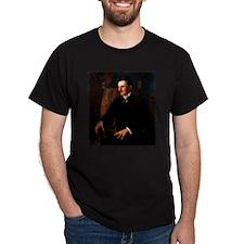 Nikola Tesla - the Blue Portrait T-Shirt