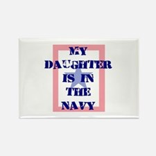 My daughter is in the Navy Rectangle Magnet