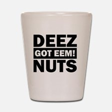 Unique Nuts Shot Glass