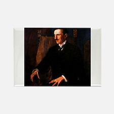 Nikola Tesla - the Blue Portrait Magnets