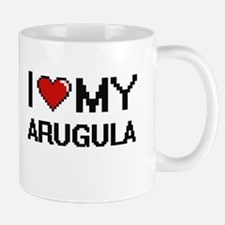 I Love My Arugula Digital design Mugs