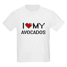 I Love My Avocados Digital design T-Shirt