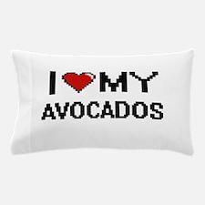 I Love My Avocados Digital design Pillow Case