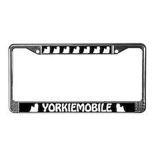 Yorkiemobile License Plate Frame