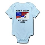 Made in america korean parts Bodysuits