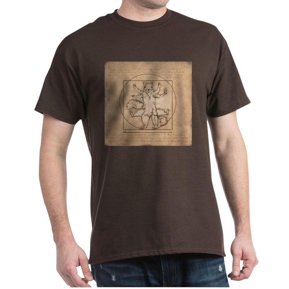 CafePress Vitruvian Squirrel T-Shirt
