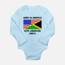 Made In American With Jamaican Parts Body Suit