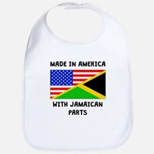Made In American With Jamaican Parts Bib