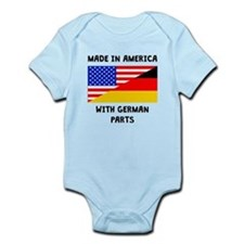 Made In American With German Parts Body Suit