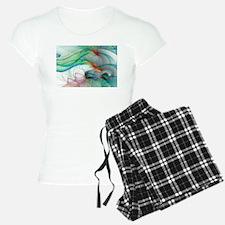Abstract 1044 Pajamas