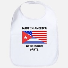 Made In American With Cuban Parts Bib
