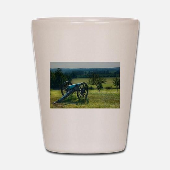 Gettysburg National Military Park Shot Glass