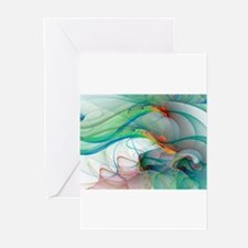 Abstract 1044 Greeting Cards