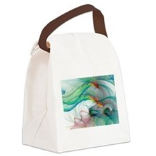 Abstract 1044 Canvas Lunch Bag