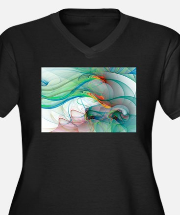 Abstract 1044 Plus Size T-Shirt