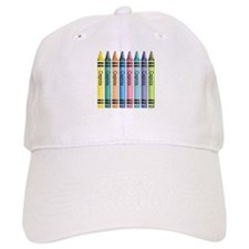 Colorful Crayons Baseball Cap