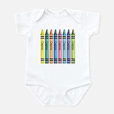 Colorful Crayons Infant Bodysuit
