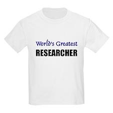 Worlds Greatest RESEARCHER T-Shirt