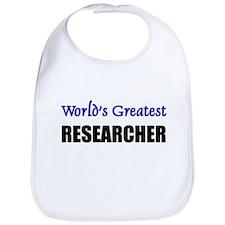 Worlds Greatest RESEARCHER Bib