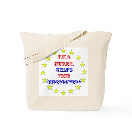 Superhero Nurse Tote Bag