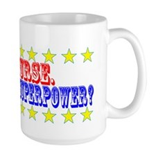Superhero Nurse Mug