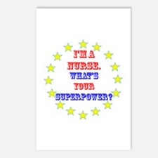 Superhero Nurse Postcards (Package of 8)