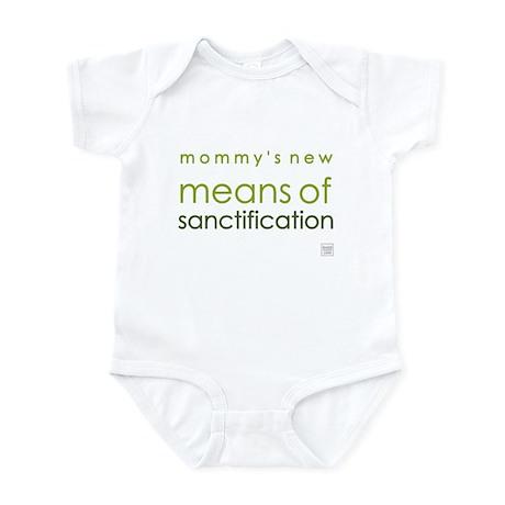 Sanctification (green) Infant Bodysuit