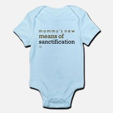 Sanctification (blue) Infant Bodysuit