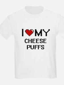 I Love My Cheese Puffs Digital design T-Shirt