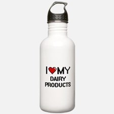 I Love My Dairy Produc Water Bottle