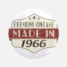 Vintage Born in 1966 50th Birthday Button