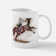 Saddle Bronc, Black Mug