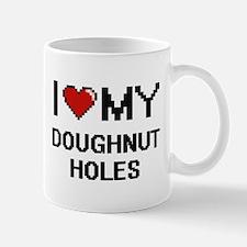 I Love My Doughnut Holes Digital design Mugs