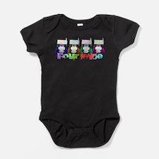 Funny Sprint car Baby Bodysuit
