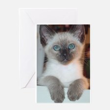 Cool Purring Greeting Card