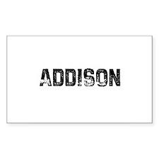 Addison Rectangle Decal