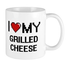 I Love My Grilled Cheese Digital design Mugs