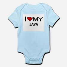 I Love My Java Digital design Body Suit