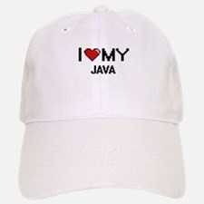 I Love My Java Digital design Baseball Baseball Cap