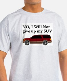 Won't Give Up SUV T-Shirt
