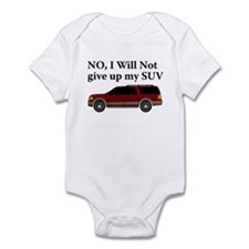 Won't Give Up SUV Infant Bodysuit