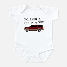 Won't Give Up SUV Infant Bodysuit