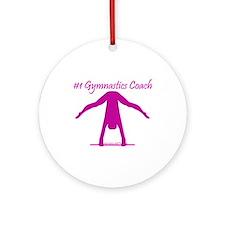 Gymnastics Ornament - Coach