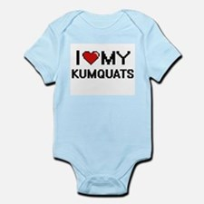 I Love My Kumquats Digital design Body Suit