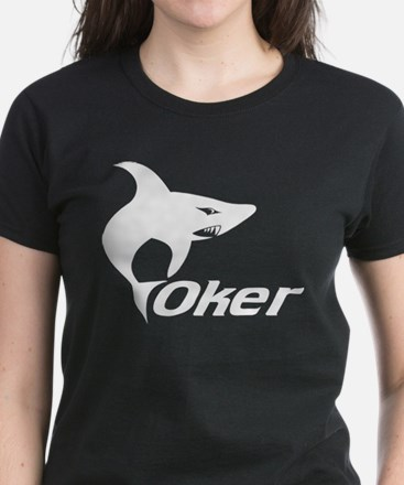 Poker Shark Women's Dark T-Shirt