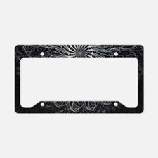 Elegant Pattern License Plate Holder