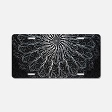 Elegant Pattern Aluminum License Plate