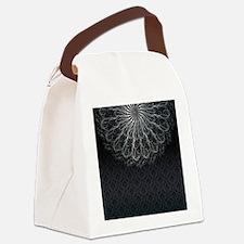 Elegant Pattern Canvas Lunch Bag