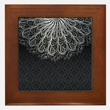 Elegant Pattern Framed Tile