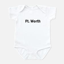 Ft. Worth Infant Bodysuit